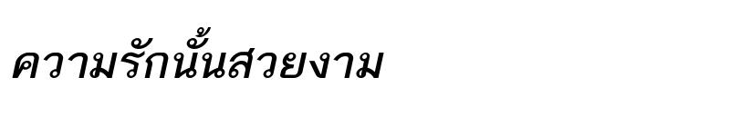 Preview of TH Baijam Bold Italic